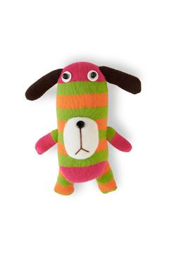 K&K Interiors Striped Dog Plush Toy - Product List Image