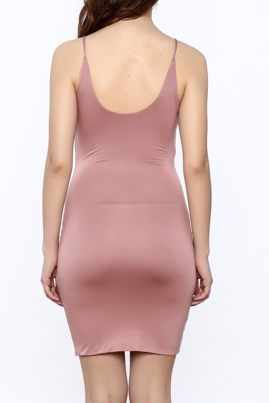 K too Bodycon Tank Dress - Back Cropped Image