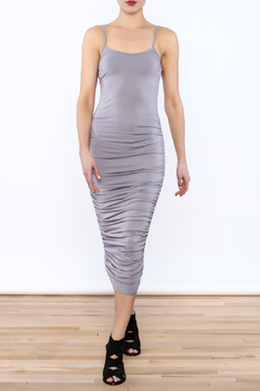 K too Ruched Midi Dress - Product List Image