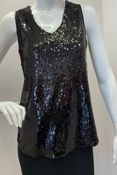 Katherine Barclay K6171 - Sequin Top - Product List Image