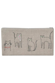K Studio Home Embroidered Cat Pouch - Product Mini Image