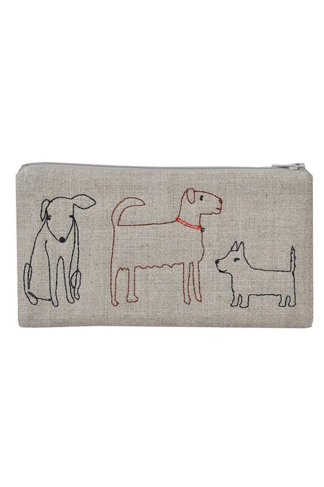 K Studio Home Embroidered Dog Pouch - Main Image
