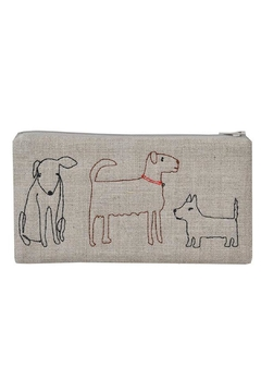 K Studio Home Embroidered Dog Pouch - Alternate List Image