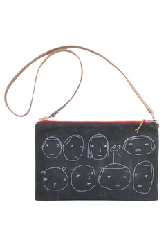 Shoptiques Product: Embroidered People Crossbody