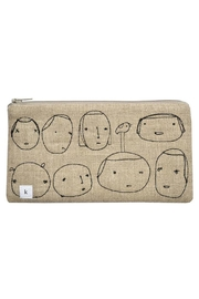 K Studio Home Embroidered People Pouch - Product Mini Image