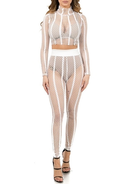 Shoptiques Product: Fishnet Matching Sets