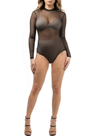 K too Mesh Bodysuit - Front cropped