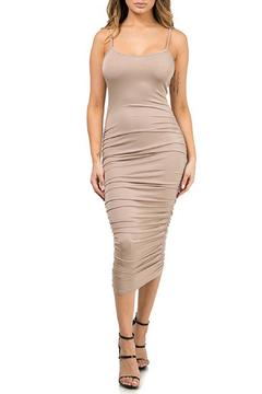 Shoptiques Product: Ruched Tank Dress
