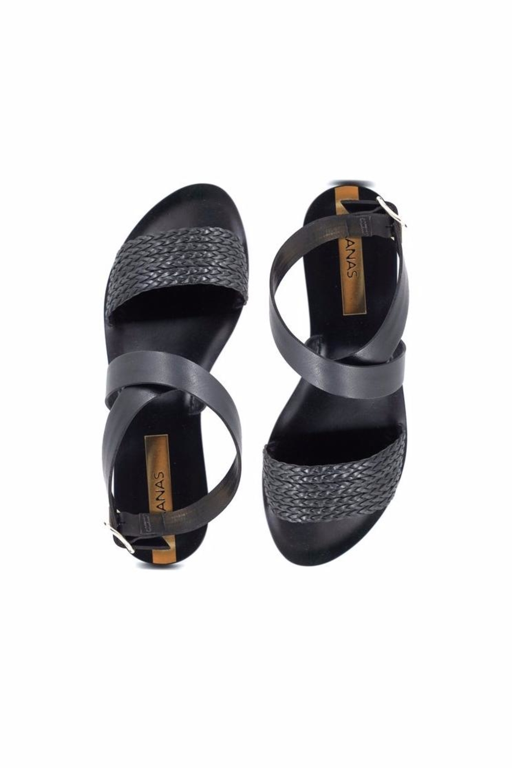 Kaanas Fortaleza Braided Sandals - Front Full Image