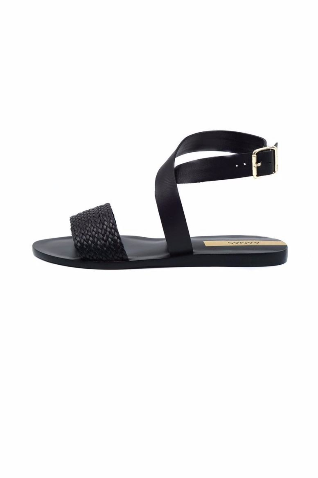 Kaanas Fortaleza Braided Sandals - Front Cropped Image