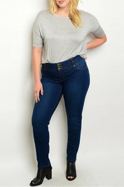 Kaba Jeans Dark Blue Jeans - Product Mini Image