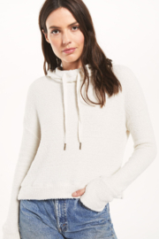 z supply Kacey Feather Hoodie - Product Mini Image