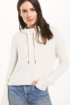 Shoptiques Product: Kacey Feather Hoodie