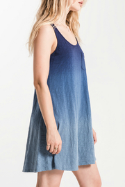 White Crow Kacey Ombre Swing Dress - Front full body