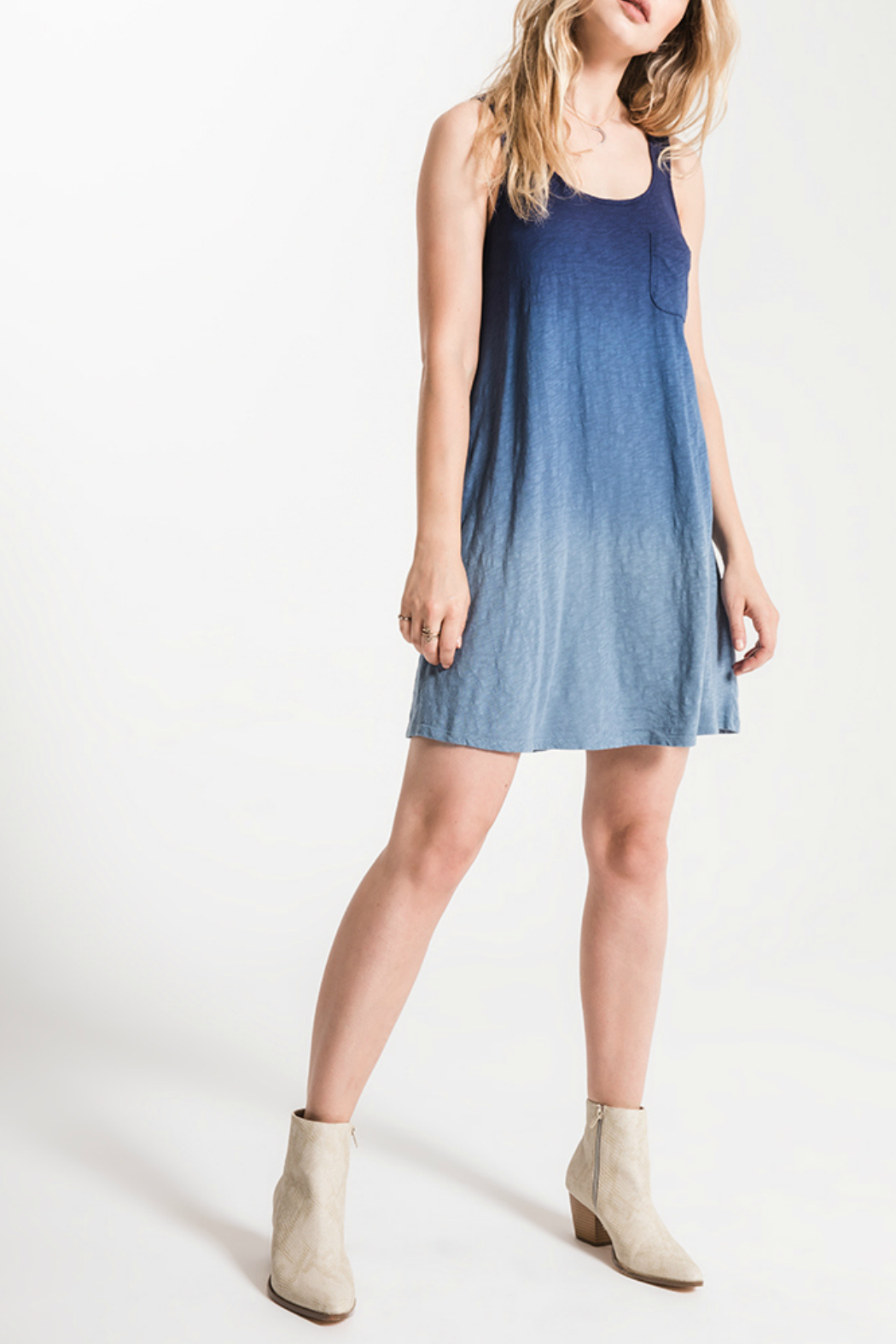 White Crow Kacey Ombre Swing Dress - Main Image