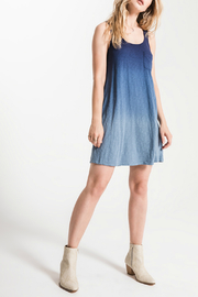 White Crow Kacey Ombre Swing Dress - Front cropped