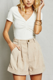 SAGE THE LABEL Kahlo Short - Front cropped