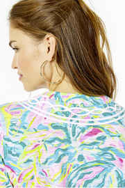 Lilly Pulitzer  Kaia Knit Tunic Top - Back cropped