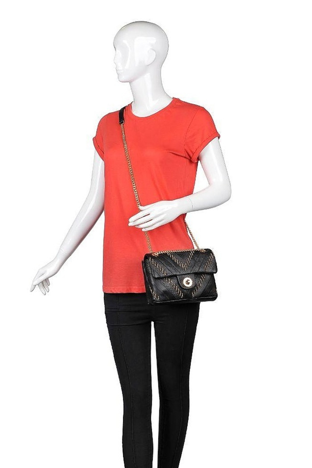 Urban Expressions Kaiden Crossbody - Back Cropped Image