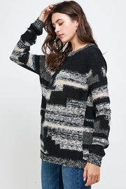 Kaii Multi Yarn Sweater Top - Front full body