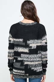 Kaii Multi Yarn Sweater Top - Side cropped