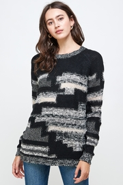 Kaii Multi Yarn Sweater Top - Front cropped