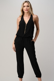 Kaii Sleeveless Loose Fit Jogger Styles Jumpsuit - Product Mini Image