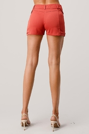 Kaii Two Pockets Dress Shorts In Gabardine - Other