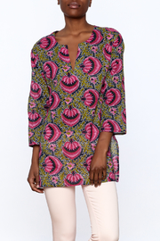 Kailani Pink Printed Tunic - Product Mini Image