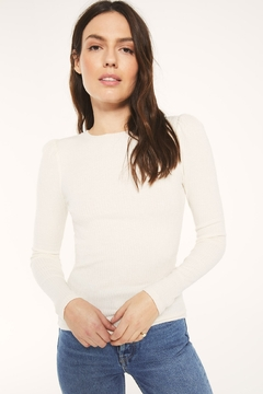 Z Supply  Kaiya Rib Long Sleeve Top - Product List Image