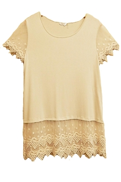 Kaktus Natural Lace Top - Product List Image