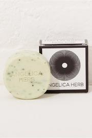 Kala Style Angelica Herb Soap - Front full body
