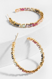 Saachi Kaleidoscope Hoop Earring - Product Mini Image