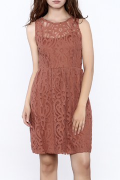 Shoptiques Product: Lace Open Back Dress