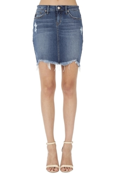 Shoptiques Product: Kan Can Denim Skirt