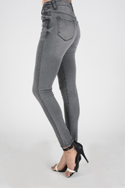 Kan Can Grey Skinny - Front full body