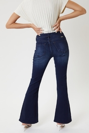 KanCan Kan Can Mid Rise Petite Flare - Front full body