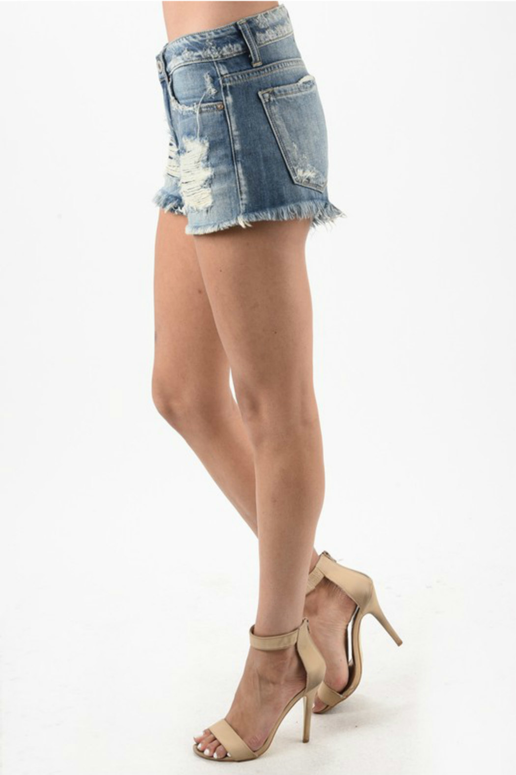 KanCan Kan Can shorts - Side Cropped Image