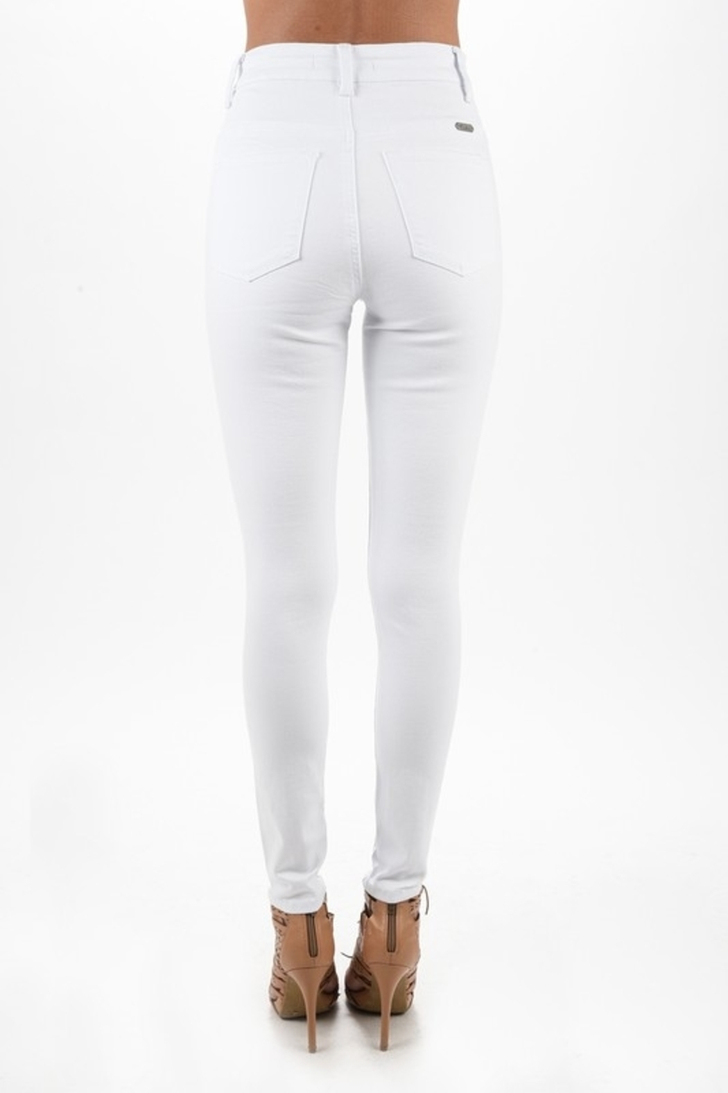 Kan Can skinny jean - Front Full Image