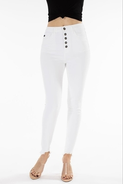 Shoptiques Product: Kan Can White Skinny