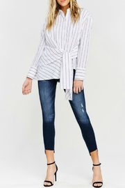 Kan Can Asymmetric Hem Skinny - Product Mini Image