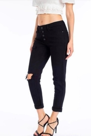 Kan Can Black Girlfriend Jeans - Front full body