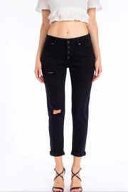 Kan Can Black Girlfriend Jeans - Product Mini Image