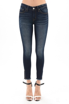 Shoptiques Product: Distressed Bottom Jeans