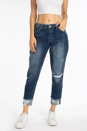 Kan Can Edgy Boyfriend Jeans - Product Mini Image