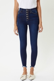 Kan Can Farrah Button-Fly Jeans - Front cropped