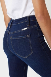 Kan Can Farrah Button-Fly Jeans - Back cropped