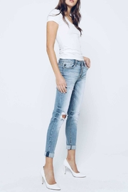 Kan Can Girlfriend Button-Fly Jeans - Side cropped