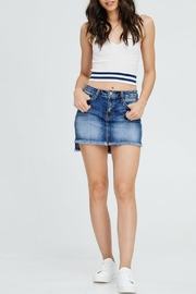 Kan Can High-Low Denim Skirt - Product Mini Image