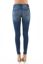 Kan Can High Waist Distressed Jeans - Side cropped